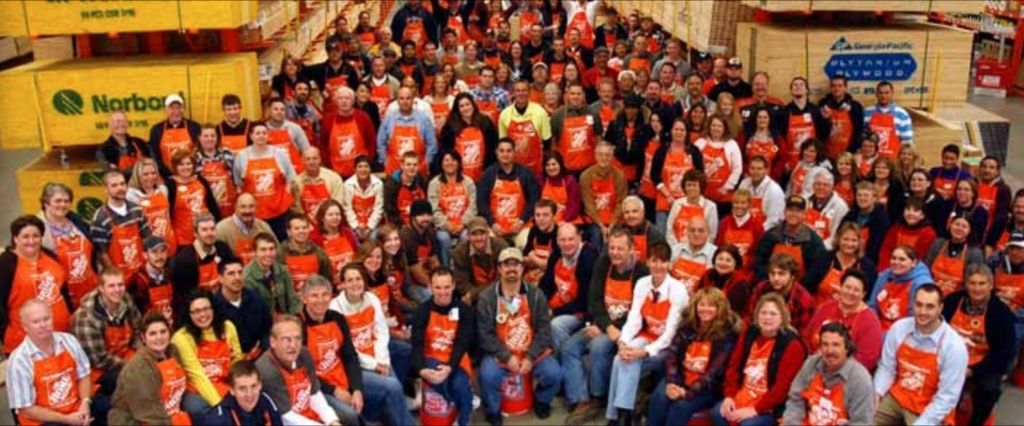 outstanding, home depot