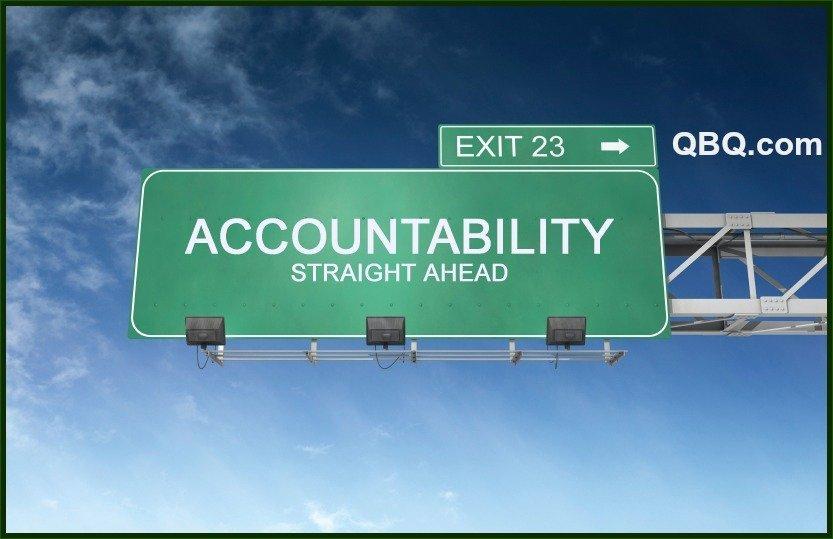 accountability, QBQ