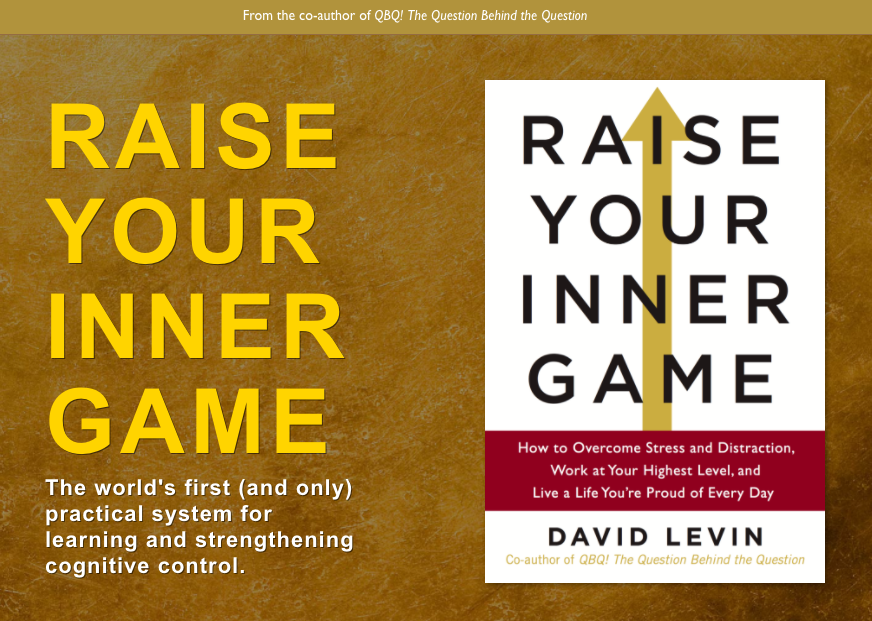 mindfulness, raise inner game, david levin